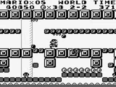 GB □ Super Mario Land スーパーマリオランド □ walkthrough1/2
