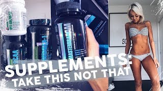 Supplements: Take This, NOT That