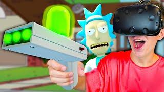 Я В МИРЕ РИКА И МОРТИ В VR Я В ШОКЕ Rick And Morty Virtual Rick-ality