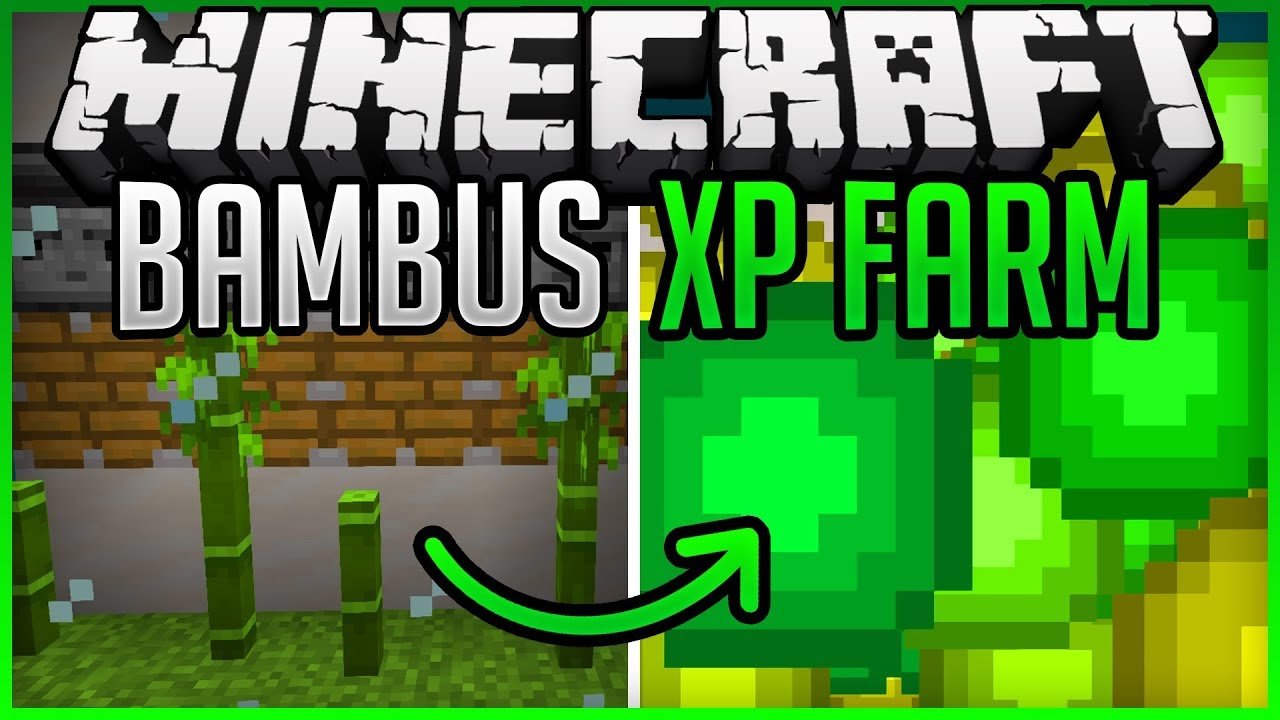 automatic Bamboo XP Farm (fast & easy) + Tutorial Minecraft Map