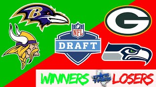 NFL Draft Winners & Losers   NFL Draft Review   Dos and Tres Podcast