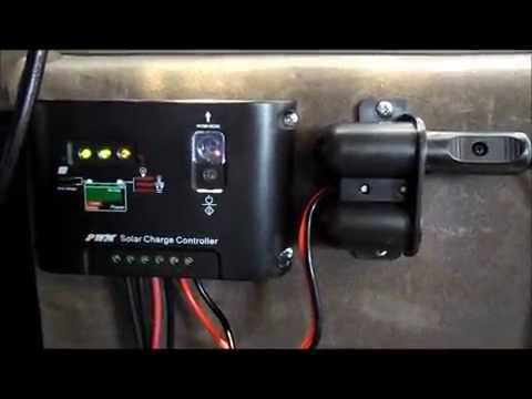 Running accessories straight off your solar panel. Getting the most out of solar power in a van