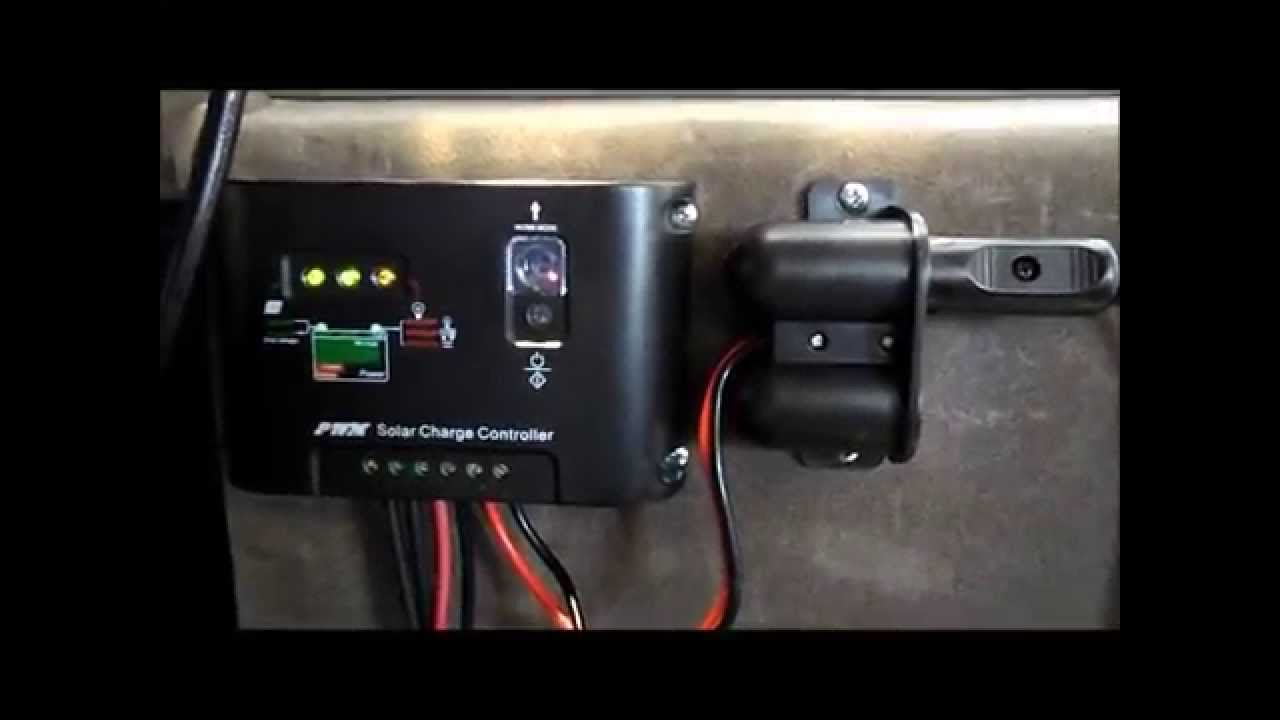 Ac Control Wiring Diagram Running Accessories Straight Off Your Solar Panel Getting