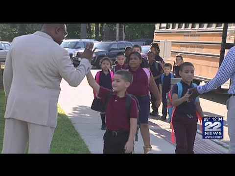 Students back to school at the Dr. Martin Luther King Jr. Charter School