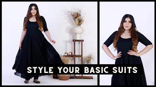 Practical & Wearable Ways To Style Basic Suits For Festive Season   #Diwalog 2021 Day 1  Shreya Jain