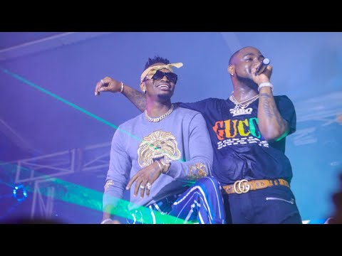 DAVIDO ampandisha DIAMOND JUKWAANI DAR Kwa Surprise, My Number One Remix, Kwangwaru zahusika