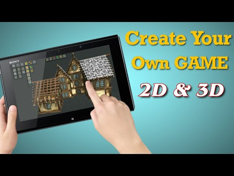 2 Apps Create Your Own Game 2D And 3D