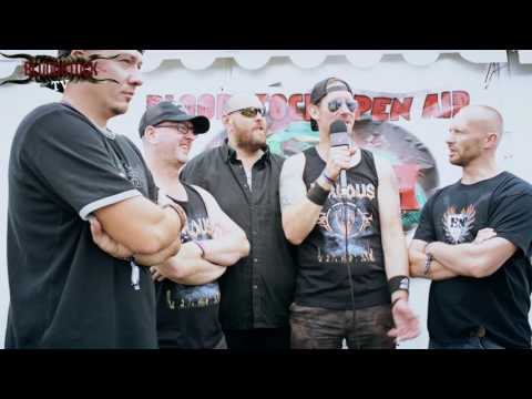 VALOUS Interview Bloodstock 2016 - Hobgoblin Newblood Stage
