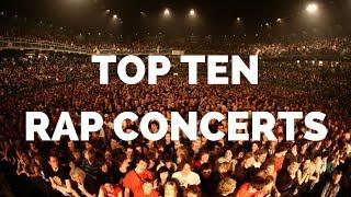 Top 10 CRAZIEST RAP CONCERTS (2017-2018)