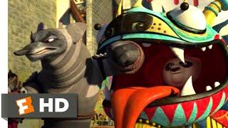 Kung Fu Panda 2 (2011) - Dragon Costume Fight Scene (3/10)   Movieclips