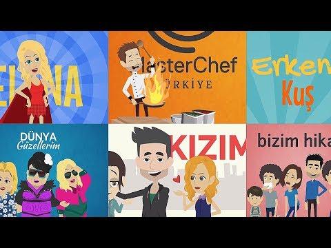 Sevdiğiniz Bütün Dizilerin Jenerikleri 2 Animasyon