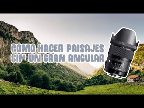 Como hacer fotos increíbles de paisaje SIN gran angular | David López