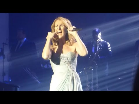Celine Dion - Think Twice October 3 2017 (BLUE DRESS FROM 2011-2014)