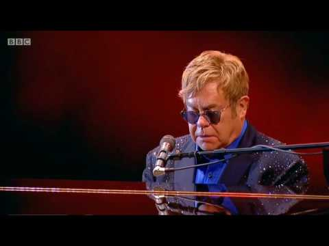 Elton John to George Michael Sept 2016