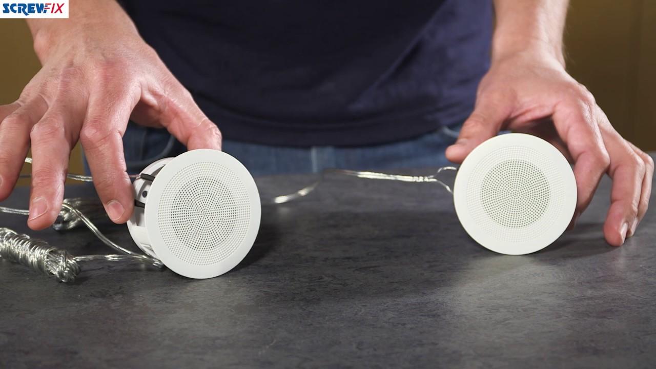 istar 12302r wireless bluetooth speaker ceiling kit screwfix [ 1280 x 720 Pixel ]