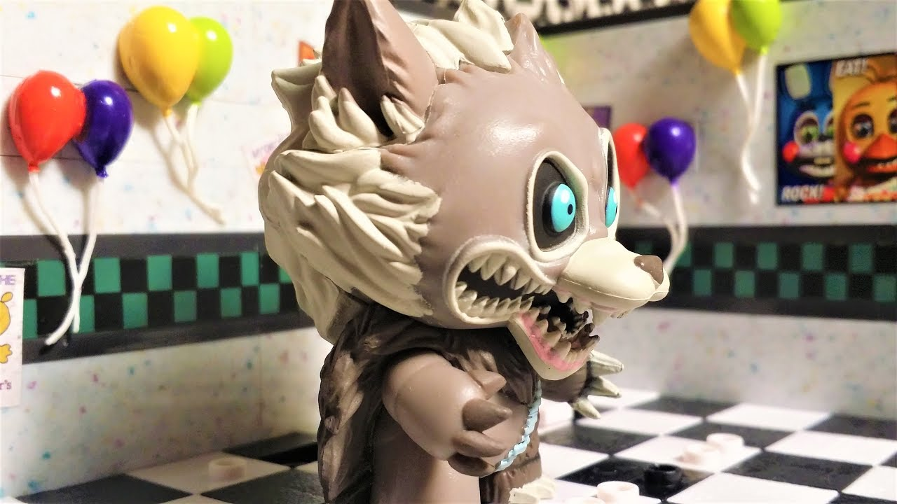 Cinq Nights at Freddy Twisted Ones Funko Mystery Minis Twisted Wolf 1//12