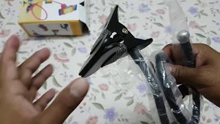 Universal Metallic Lazy Flexible Long Arm Mobile Holder Stand Unboxing and Review BEST FOR TOP VIEW