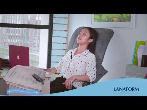 Đệm massage toàn thân Lanaform LA110315   Chính Hãng Nhập khẩu Vương Quốc Bỉ