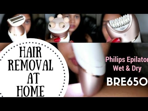 Easy Hair Removal At Home | Philips Satinelle Prestige BRE650 Wet and Dry Epilator Review