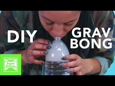 D.I.Y. Gravity Bong