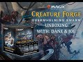 Magic: The Gathering Creature Forge: Overwhelming Swarm Box Opening!