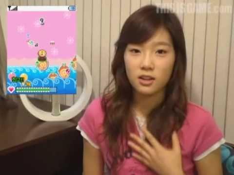 TaeYeon (SNSD) CF Interview 물가에돌튕기기3 , Sep09.2007 3/4 GIRLS' GENERATION