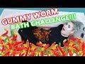 REAL vs GUMMY CHALLENGE: BATH EDITION!! | oookaylie