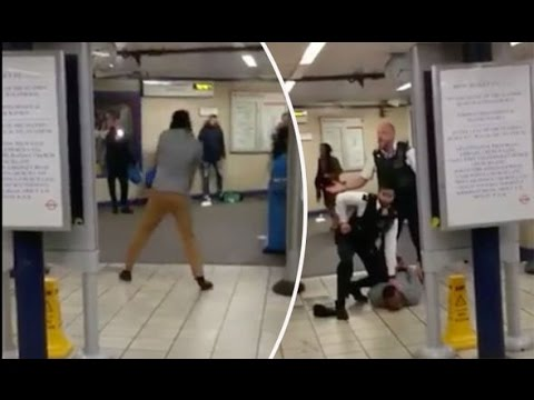BREAKING VIDEO Terrorist Attack London - Knifeman screams 'this is for Syria' - ISIS influenced?