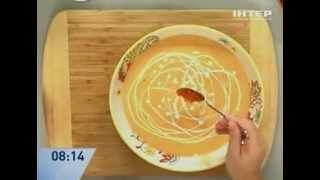 Рыбный крем-суп из семги - рецепт от Даши Малаховой - Интер