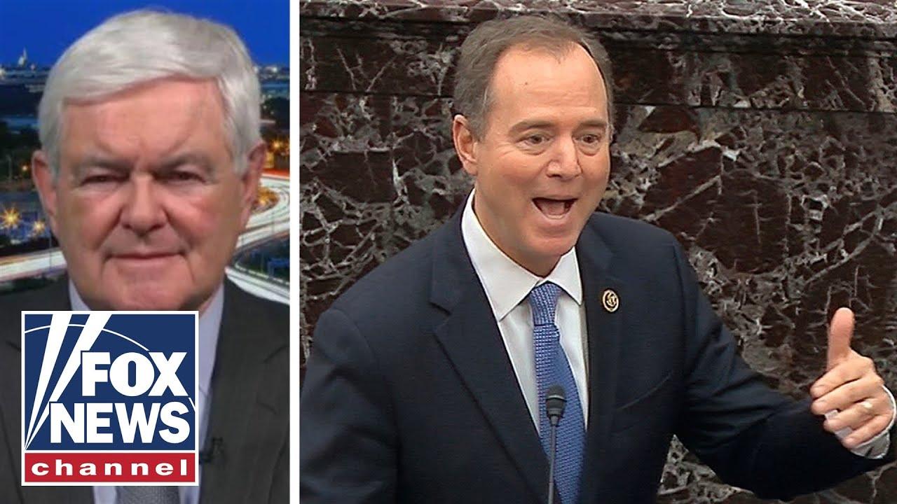Newt Gingrich calls out Schiff's 'lies' as 'deranged'