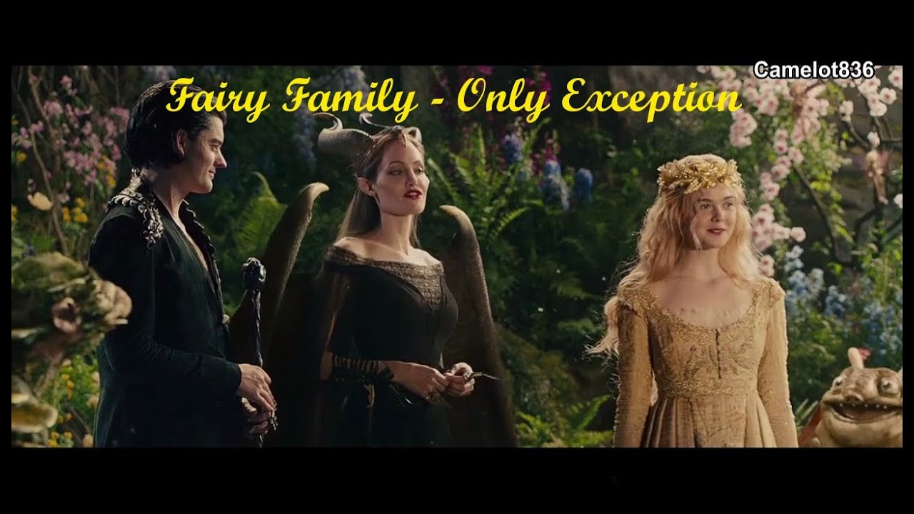 Maleficent And Aurora Feat Diaval Maleval The Only Exception Fairy Family