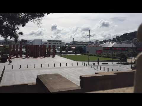 Pukeahu National War Memorial Park time-lapse