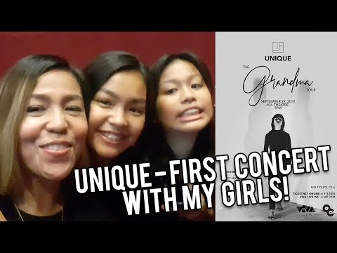 UNIQUE - First Concert with My Girls! VLOG 36