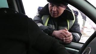 Пост Валки, ЛЖИВЫЙ ИДПС Фастенко В.Ю.(11.02.2014 года, проезжали