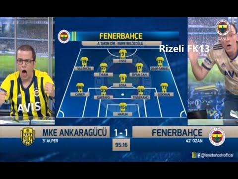 Ankaragücü 1-2 Fenerbahçe - FB TV Gol Anları - \