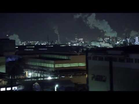 (HD) Japanese industrial area -深夜の首都高神奈川6号川崎線(2013ver.)-