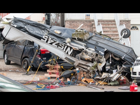Plane Crash In Bayonne New Jersey