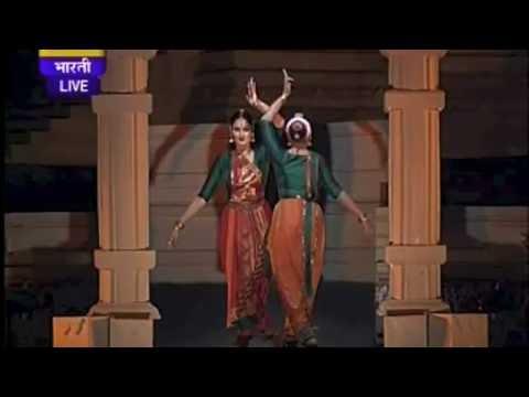 Khajuraho Alarippu - Bharatanatyam duet by Sharanya Chandran and R. Amritasruthi