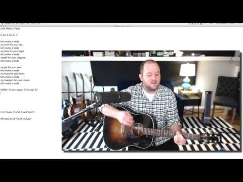 "Writing ""Trade"" | Songwriting Corner [8]"