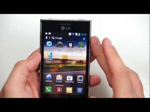 LG E610 Optimus L5 in the Test