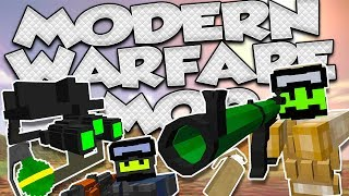 🚨MODS #75🚨|¡CALL OF MINECRAFT MÁS DE 300 ARMAS (100% REALES)! | VIC'S MODERN WARFARE MOD |1.12.2|