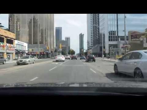 Google maps street view [HD] - Driving on Yonge Street Toronto Canada