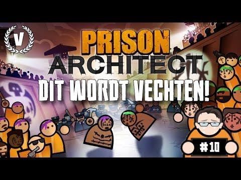 """""""DIT WORDT VECHTEN!"""" - Prison Architect - Aflevering 10"""