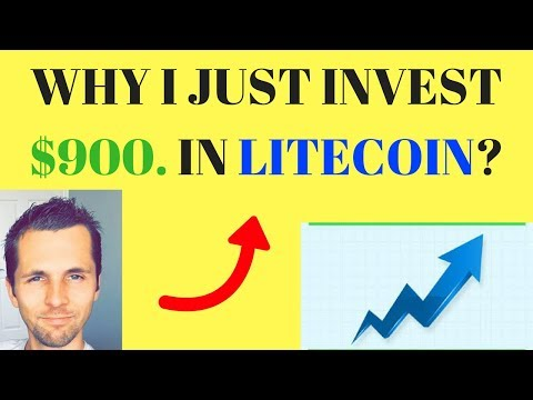Why I Invested $900. In Litecoin Today! Litecoin Vs Bitcoin Chart Explained