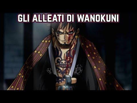 Monkey D Luffy Capitano Imperatore Leader Di Wano One