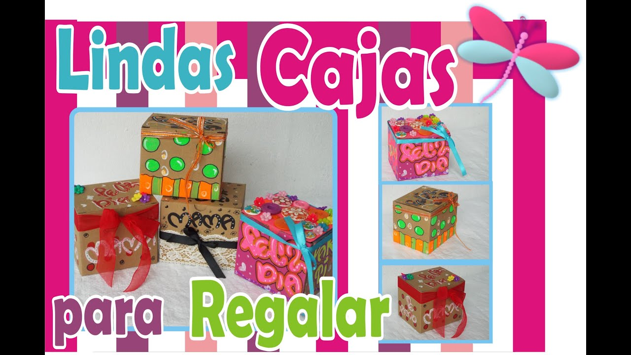 Como decorar cajas de cart n ideas para decorar cajas - Decorar cajas de regalo ...