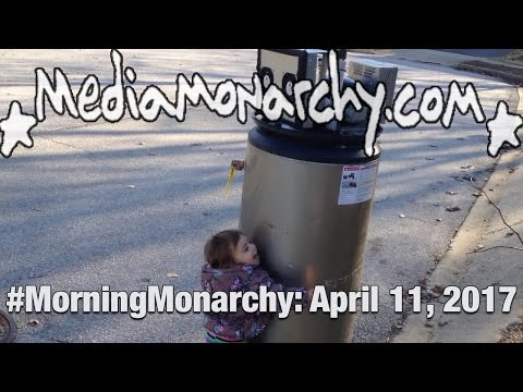 Hugging Robots & Increasing Influence on #MorningMonarchy: #April11, 2017