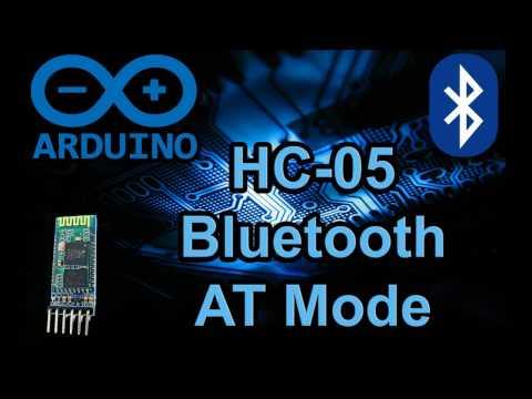 Arduino Code: Bluetooth module HC-05 AT Setup Mode