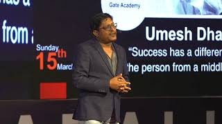 Exams, Success & Middle Class Dreams | Umesh Dhande | TEDxPandri