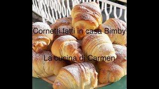 Cornetti 🥐 colazione bimby😋